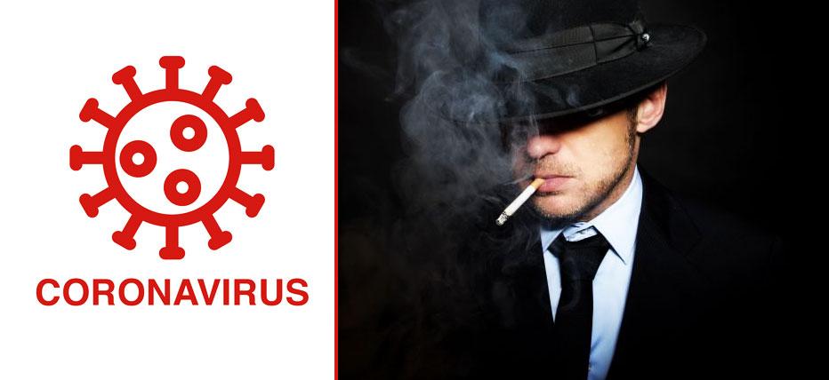 ریسک ابتلا به COVID-19 و علائم شدیدتر آن در افرادی که سیگار میکشند